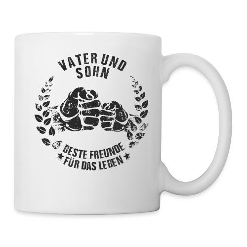 Vater und Sohn beste Freunde für das Leben - Tasse