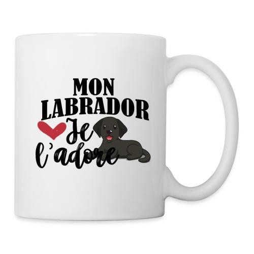 Mon Labrador Je L'adore - Mug blanc