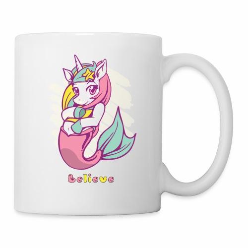 Meerjungfraucorn - Tasse