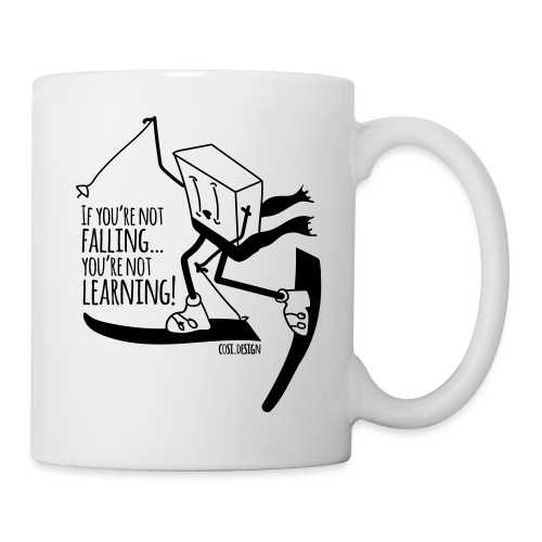 if you're not falling you're not learning - Tazza