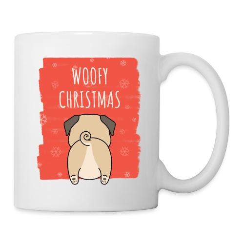 Grappige Kerstmis hond Woofy Christmas origineel - Mok