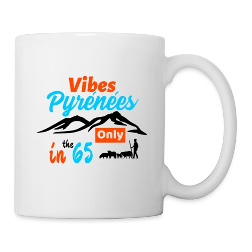 Ambiance Pyrénées et brebis... - Mug blanc