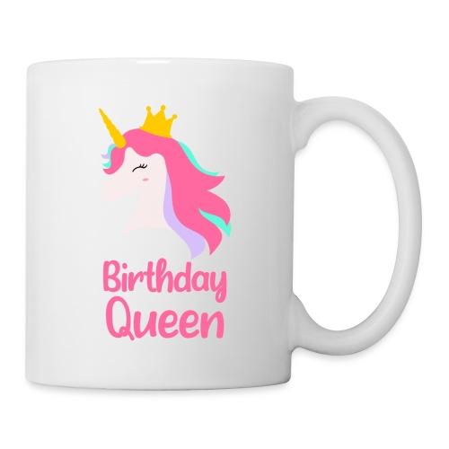 Królowa urodziny korona jednorożec - Kubek