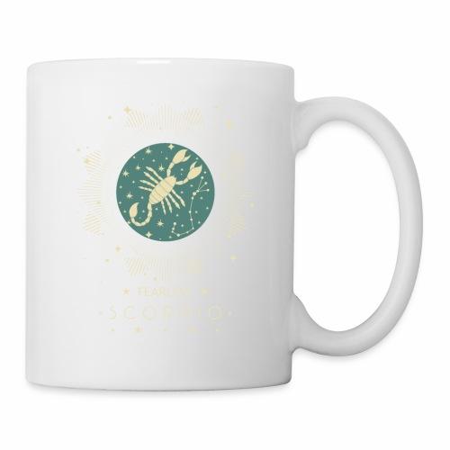 Sternzeichen Furchtloser Skorpion Oktober November - Tasse