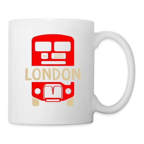 London Bus Roter Doppeldecker London Fan Souvenir - Tasse