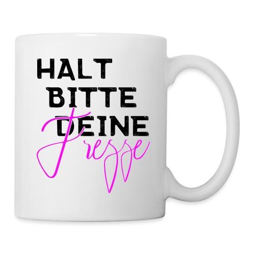 Halt bitte deine Fresse - Tasse