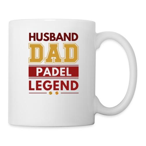 Man Pappa Padel Legend - Mugg
