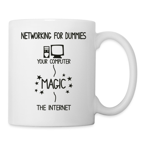 Network Schematic for Dummies - Mug