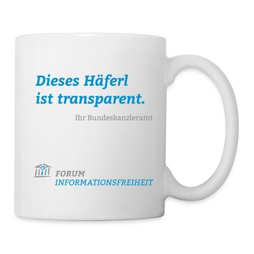 Logo Forum Informationsfreiheit - Tasse
