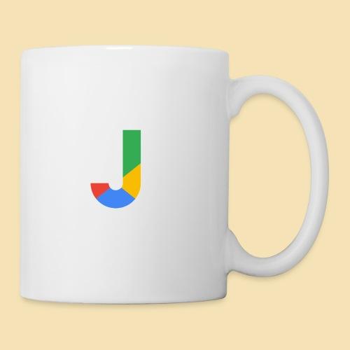 Google style Letter J - Mug