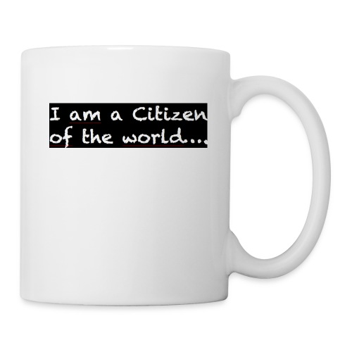 I am a citizen of the world - Mugg