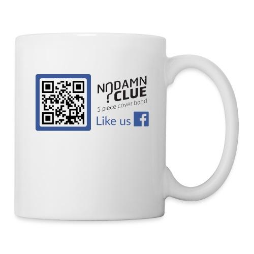 No Damn Clue QR Code - Mug