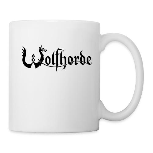 wolfhorde vector black - Mug