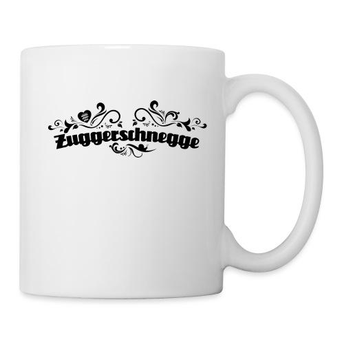 Zuggerschnegge (schwarz) - Tasse