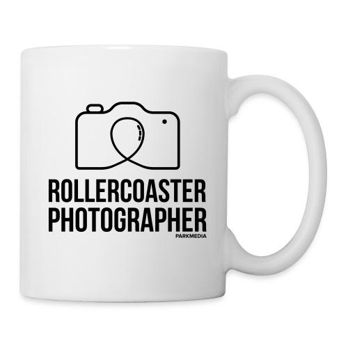 Photographe de montagnes russes - Mug blanc
