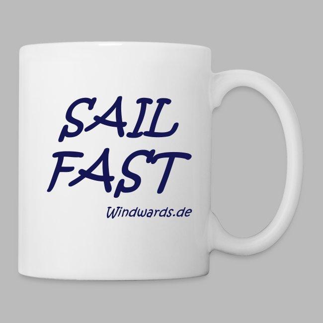 Sail fast Spruchshirt