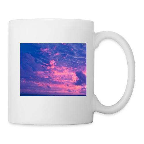 blau rosa wolken atmosphare 125088 1 jpg - Tasse