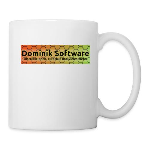 Dominik Software Banner - Tasse