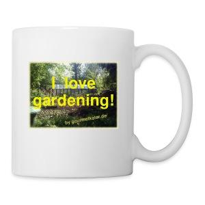 I love gardening - Garten - Tasse