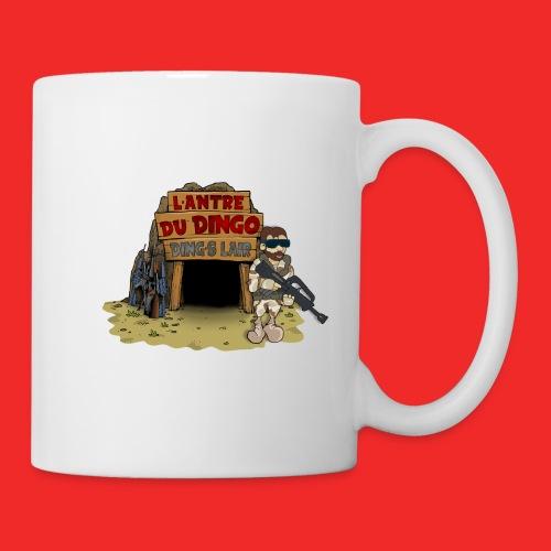 logo antre sans YT - Mug blanc