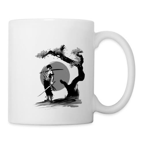 samurai - Mug blanc