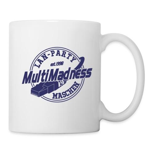MMM Logo - modern weiß - Tasse