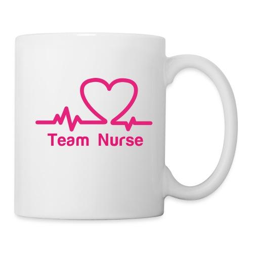 logo team nurse - Mug blanc