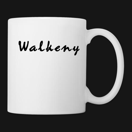 Walkeny Schriftzug - Tasse