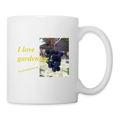 Weintraube - I love gardening - Tasse