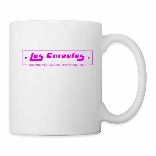 Rocking since 2001! Pink - Mug blanc