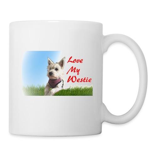 Love my westie - Mug