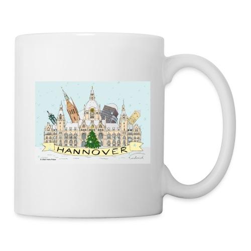 Hannover Rathaus Sehenswürdigkeiten Souvenir - Tasse
