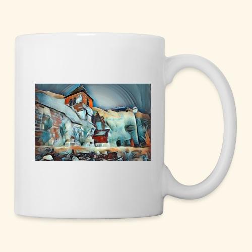 Bysantine church - Mug blanc