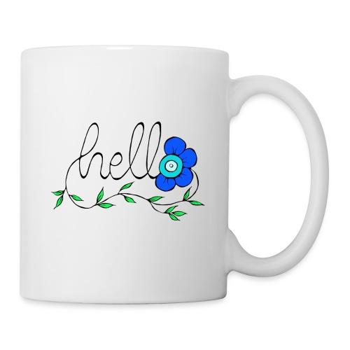 Hello Blume. - Tasse