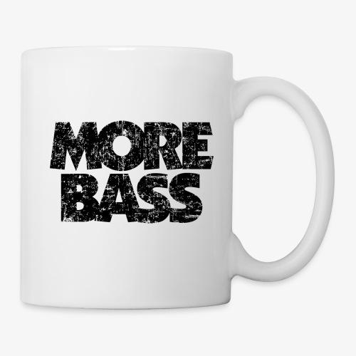 More Bass (Vintage/Schwarz) Bassist Bassisten - Tasse