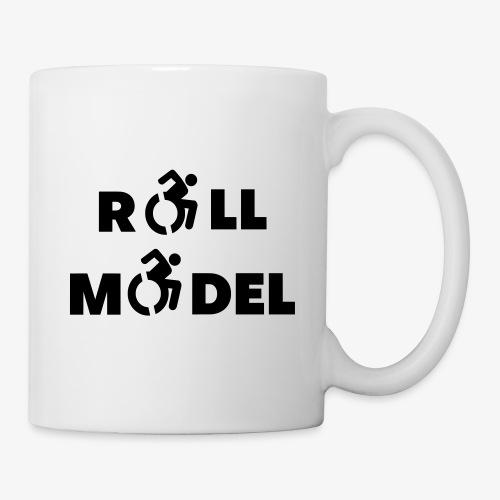 Elke rolstoel gebruiker is een roll model - Mok