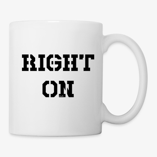 Right On - black - Tasse