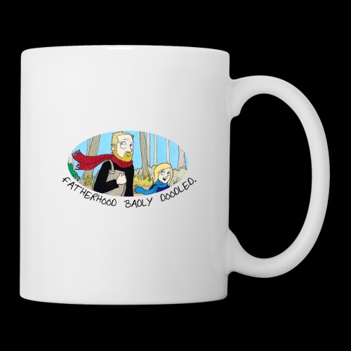 Fatherhood Badly Doodled - Mug