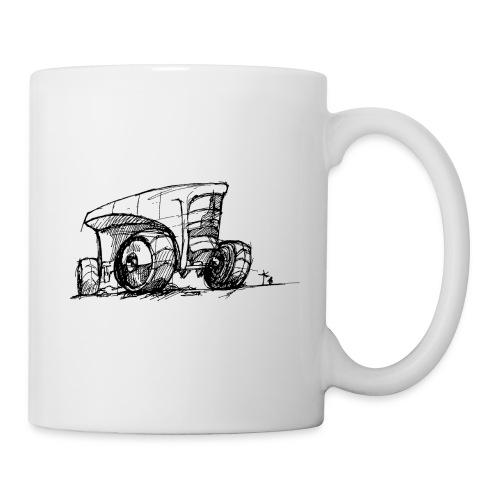 Futuristic design tractor - Mug