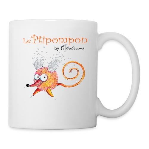 Ptipompon3 t shirt jpg - Mug blanc