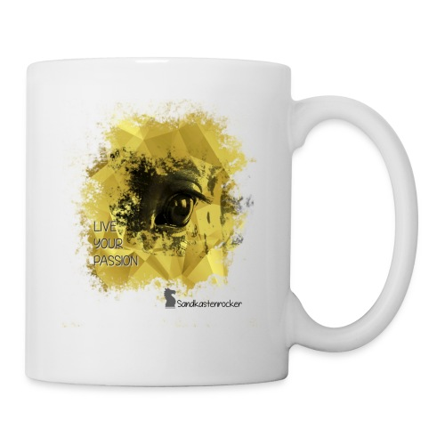 Live your Passion Sandkastenrocker - Tasse