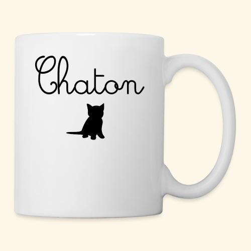 Chaton - Mug blanc