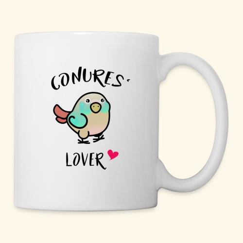 Conures' Lover: blue cinamon - Mug blanc