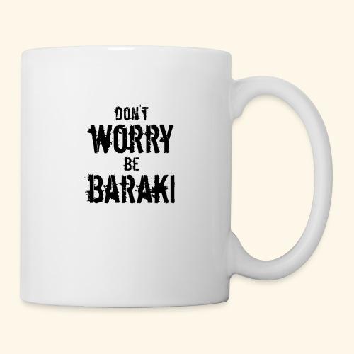Be Baraki (Noir) - Mug blanc