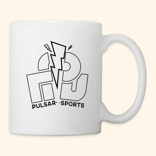 Lightning Striking through Team-Pulsar logo - Mug