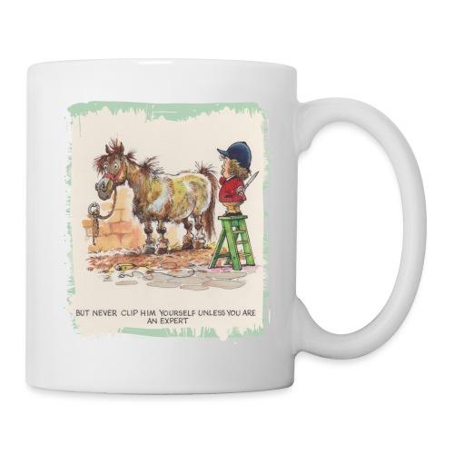 Thelwell Cartoon Pony beim Friseur - Tasse