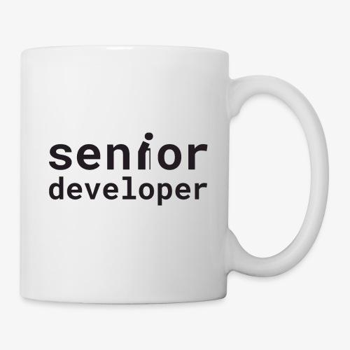 Senior developer | programmer jokes - Mug