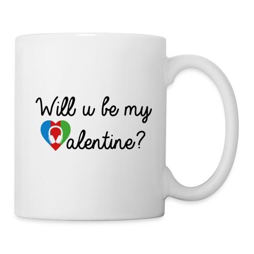 Valentine blk - Tasse