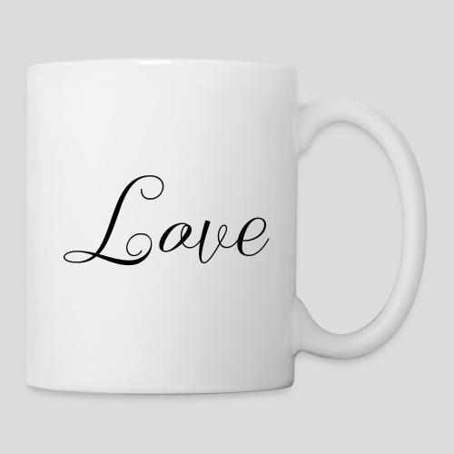 Love - Schiftzug - Tasse