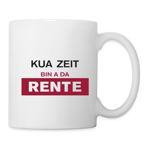Kua Zeit - bin a da Rente - Tasse